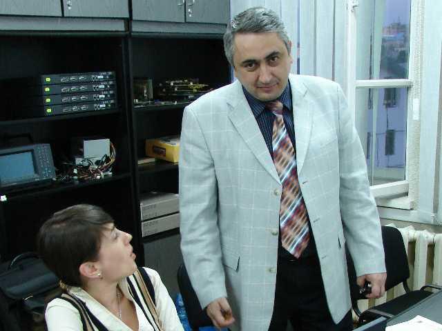 prof.univ.dr.ing. Valentin Popa, rector Universitatea Ştefan cel Mare Suceava
